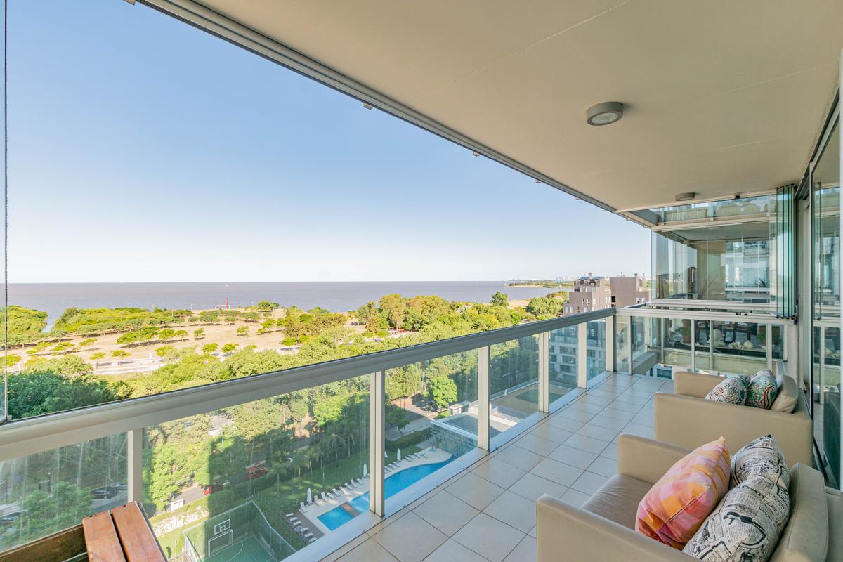 HORIZONS -Exclusivo 225 m2 con vista franca al rio!!! 3 dorm. c/dep. en alquiler