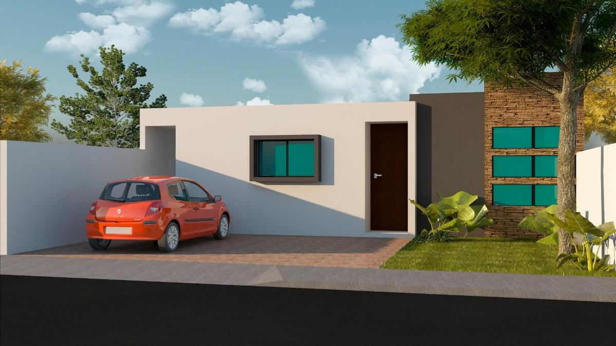 Foto Casa en Venta en  Pueblo Cholul,  Mérida  Casa de 1 Planta en Privada Inara (MOD.124).