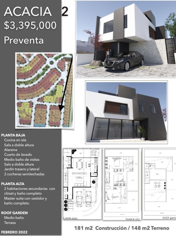 Foto Casa en Venta en  Fraccionamiento Zibatá,  El Marqués  CASA PREVENTA  CONDOMINIO  ACACIA  CLUB DE GOLF ZIBATA QUERETARO MEX.
