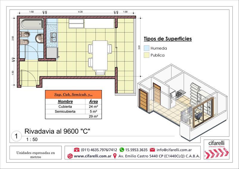 Foto Departamento en Venta |  en  Villa Luro ,  Capital Federal  Av. Rivadavia al 9600 1° C