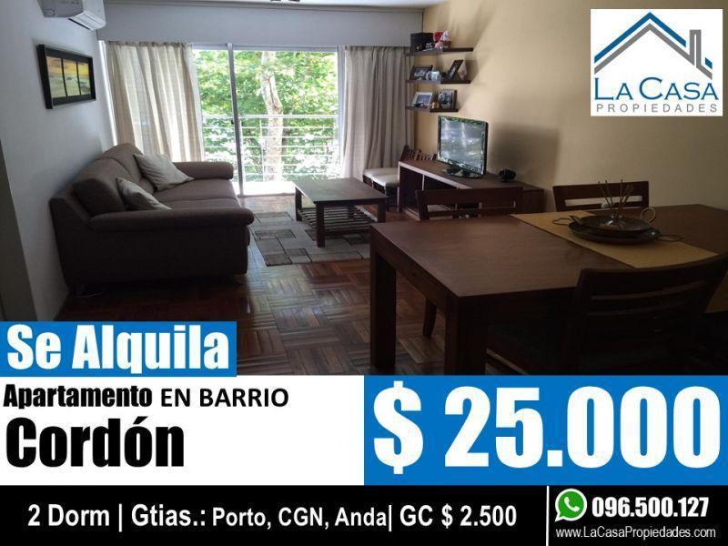 Foto Apartamento en Alquiler en  Cordón ,  Montevideo  JACKSON, JUAN D 1300