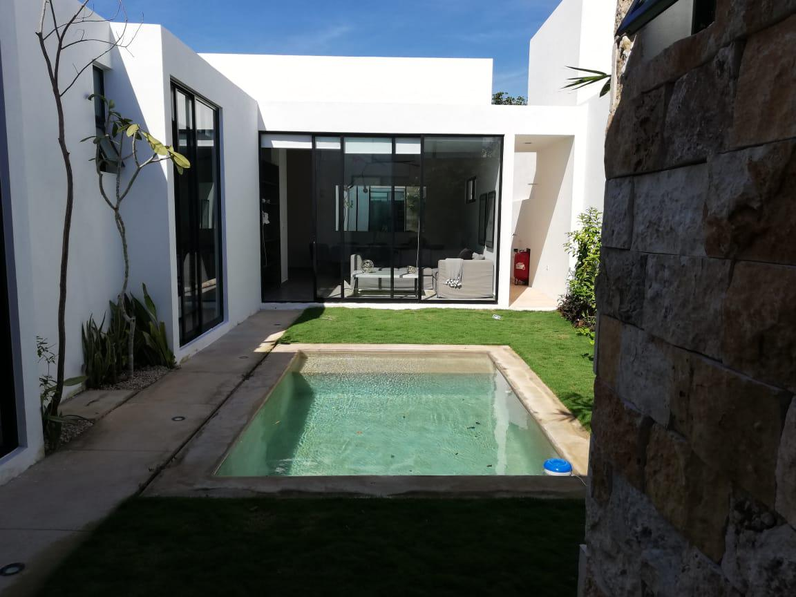 Foto Casa en Venta en  Temozon Norte,  Mérida  Amidanah. Casas de diferentes modelos en Temozón Norte, al norte de Mérida, Yuc., Méx.