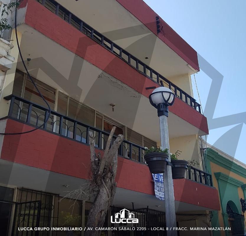 Foto Edificio Comercial en Venta en  Centro,  Mazatlán  EDIFICIO EN CALLE ANGEL FLORES