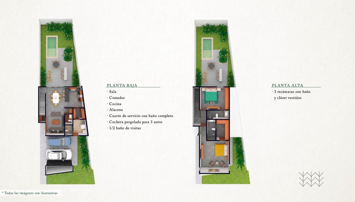 Foto Casa en Venta en  Pueblo Temozon Norte,  Mérida  MADERO 54   MODELO CEREZO   TEMOZÓN NORTE