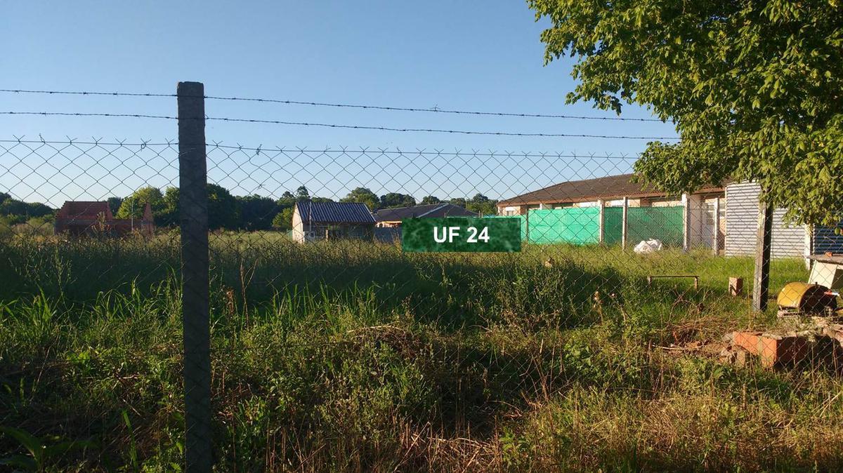 Foto Terreno en Venta    en  Escobar ,  G.B.A. Zona Norte  UF 24 Lote  Apto Créditos Construcción. Barrio Campos Verdes. Escobar