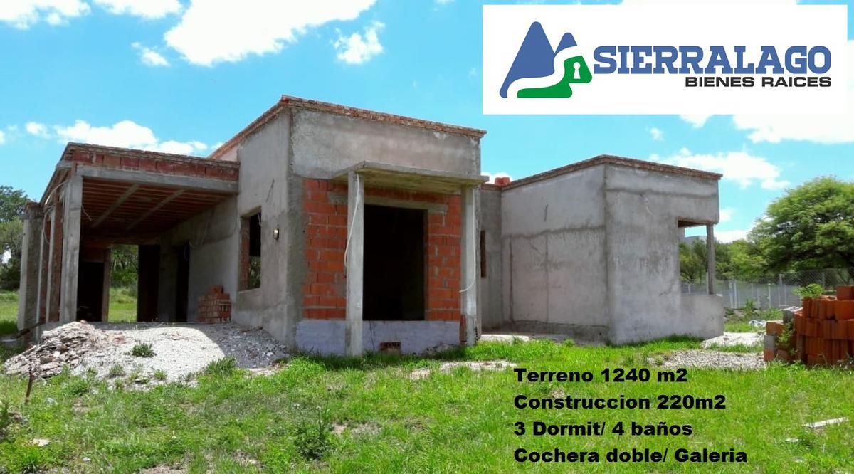 Foto Terreno en Venta en  Alta Gracia,  Santa Rosa  Casa a terminar en El Anglo - Alta Gracia