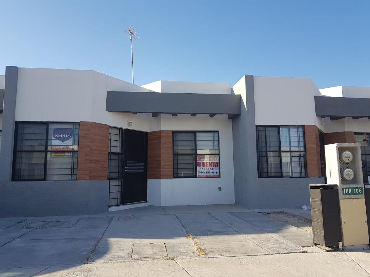 Foto Casa en Renta en  Los Lagos,  San Luis Potosí  CASA EN RENTA AMUEBLADA EN PRIVADA  LOS LAGOS RESIDENCIAL