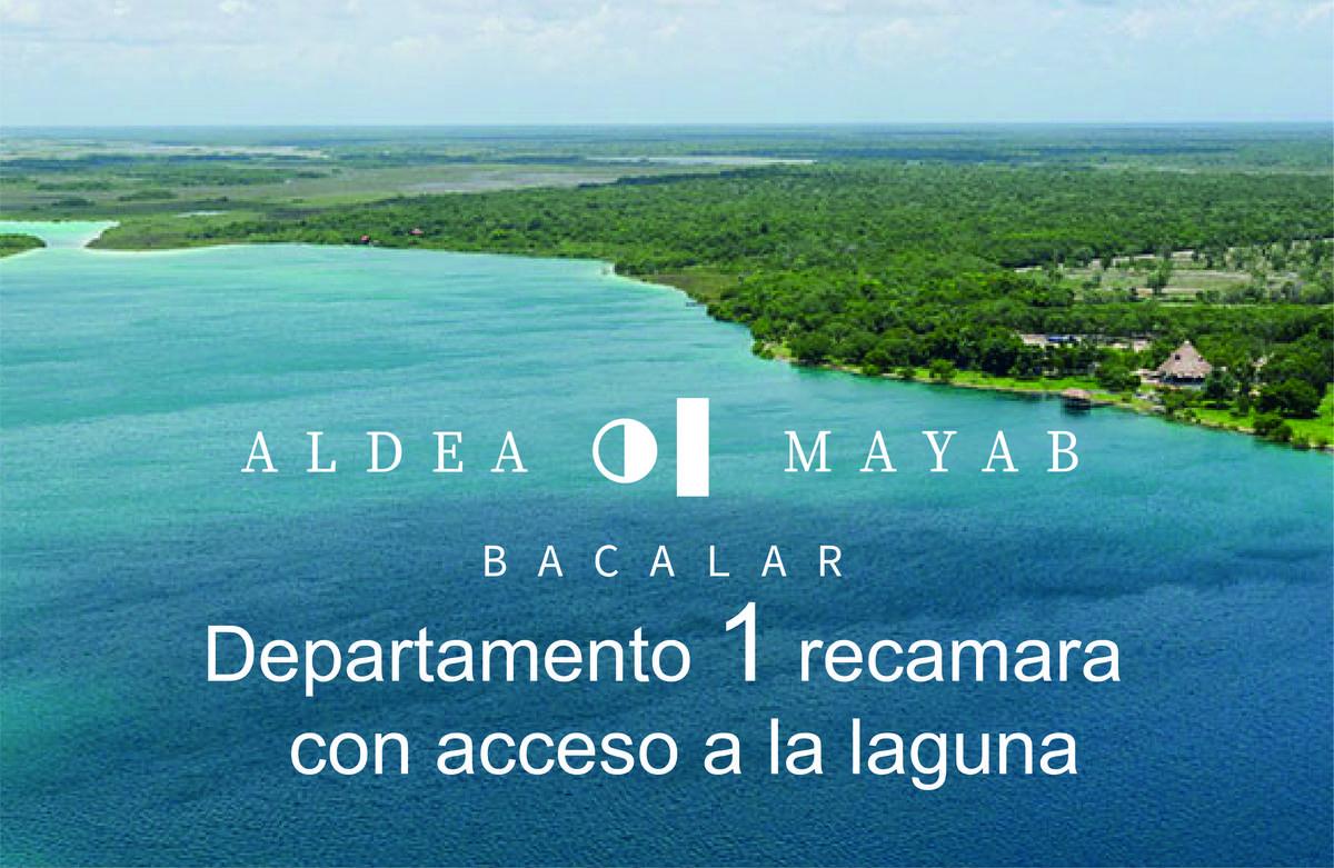 Foto Departamento en Venta en  Bacalar ,  Quintana Roo  Departamento  en venta 1 recamara en Laguna de Bacalar