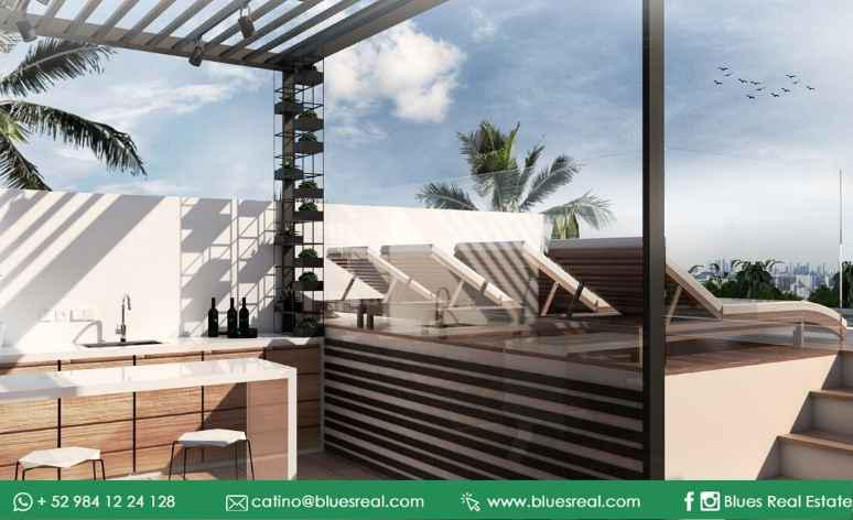 Picture Apartment in Sale in  Solidaridad ,  Quintana Roo  Apartments for sale in Condo Huaya 18 | Blues Real | Code 669