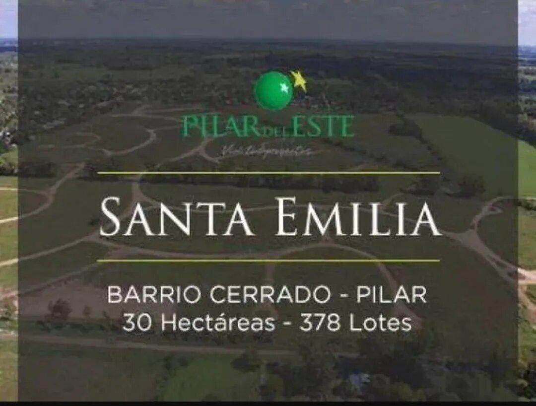 Foto Terreno en Venta en  Pilar Del Este,  Countries/B.Cerrado (Pilar)  Venta de Lote de 480 m2. Santa Emilia. Pilar del Este.