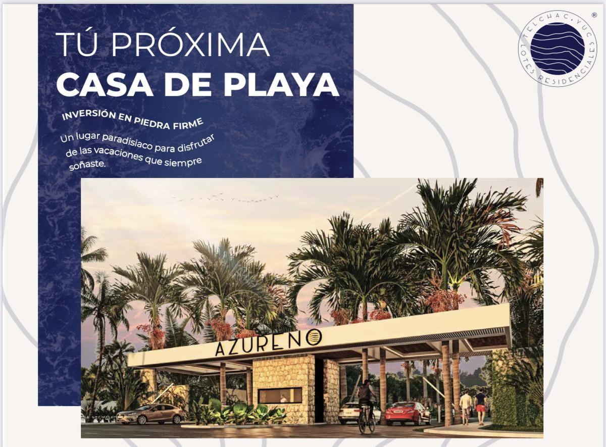Foto Terreno en Venta |  en  Telchac Puerto ,  Yucatán  TERRENOS -  LOTES URBANIZADOS  A 1O MINUTOS DEL MAR DE TELCHAC PUERTO YUC.