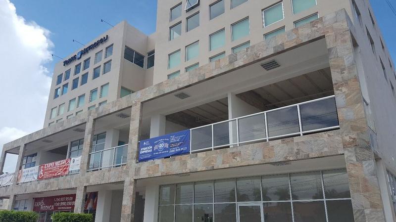 Foto Oficina en Renta en  Supermanzana 22 Centro,  Cancún  CONSULTORIOS MEDICOS EN RENTA EN CANCUN TORRE METROPOLI CON TODOS LOS SERVICIOS INCLUIDOS.