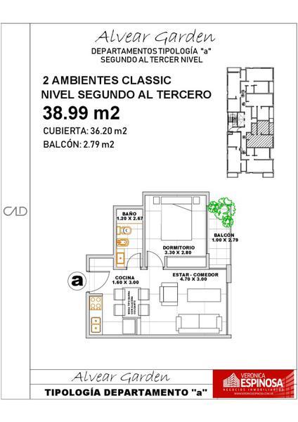 Foto Departamento en Venta en  Ituzaingó,  Ituzaingó  Alvear 900 3ºA