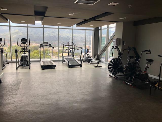 Foto Departamento en Renta en  Mata Redonda,  San José  Rohrmoser/ Vistas/ Amueblado/ Gym/ Sauna/ Fácil acceso