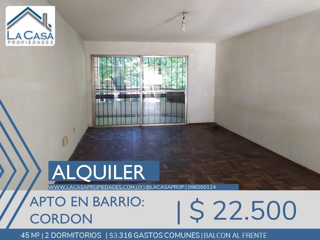 Foto Apartamento en Alquiler en  Cordón ,  Montevideo  Casinoni al 1000