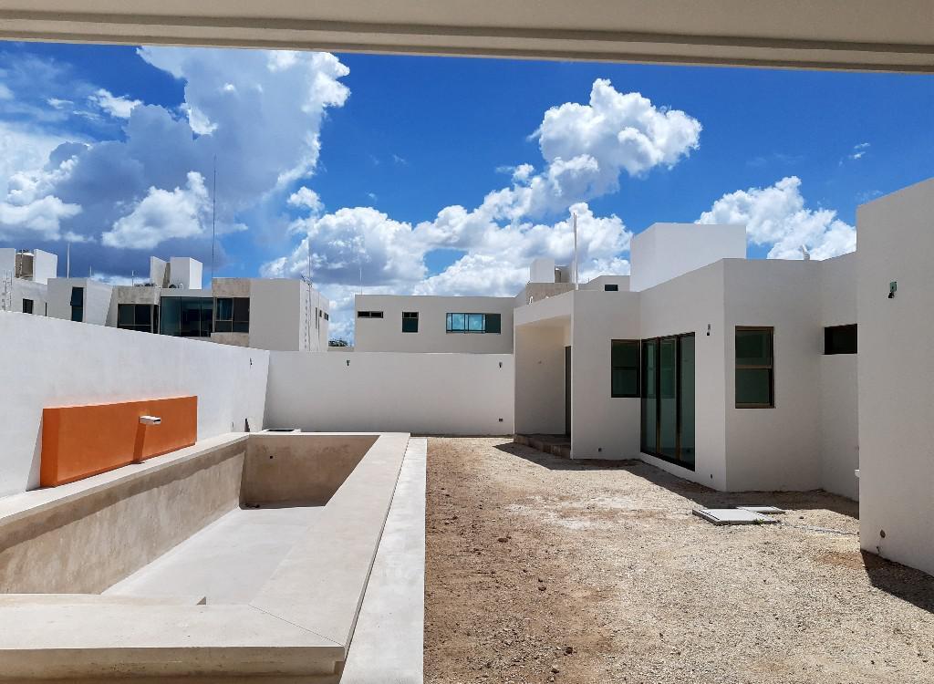 Foto Casa en Venta en  San Diego Cutz,  Conkal  Casa de 1 Planta en  San Diego Cutz, Mod 2