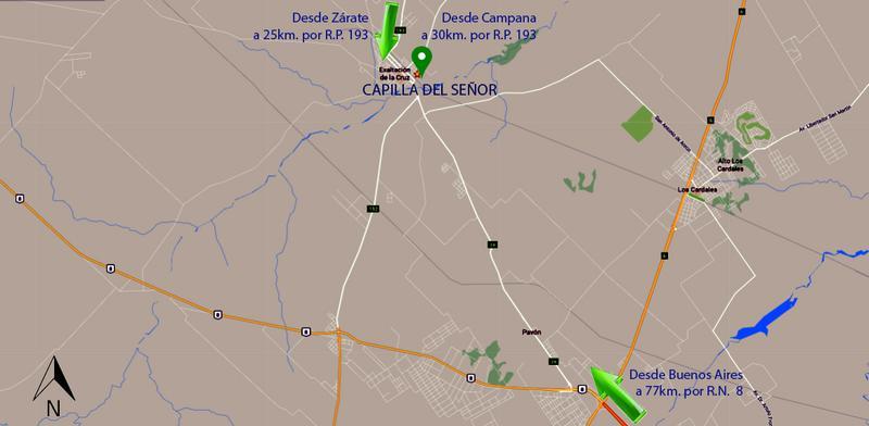 Foto Terreno en Venta en  Capilla Del Señor,  Exaltacion De La Cruz      Barrio Las Marias , Capilla del Señor SIN EXPENSAS lote 120