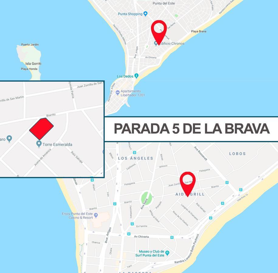 Foto Terreno en Venta en  Playa Brava,  Punta del Este  Parada 5