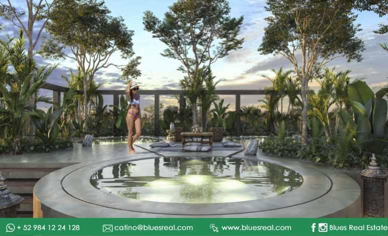 Picture Apartment in Sale in  Tulum ,  Quintana Roo  Hacienda Tuk Tulum | Blues Real | Code 932