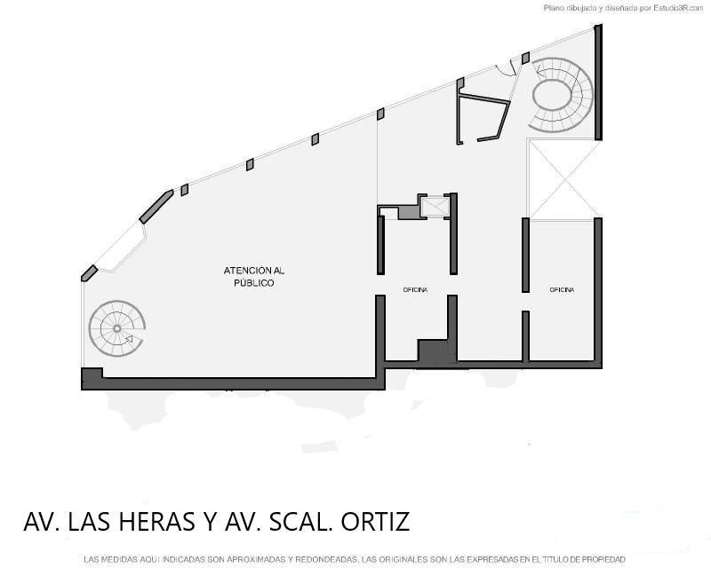 Av. las Heras y Av. Scalabrini Ortiz