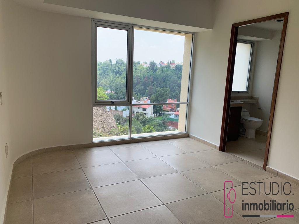 Foto Departamento en Renta en  La Herradura,  Huixquilucan  DEPARTAMENTO EN RENTA LA HERRADURA. residencial privilege, seguridad, amplio, luminoso.