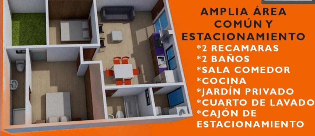 Foto Departamento en Venta en  El Rosedal,  San Luis Potosí  DEPARTAMENTOS ATRAS DEL ROSEDAL