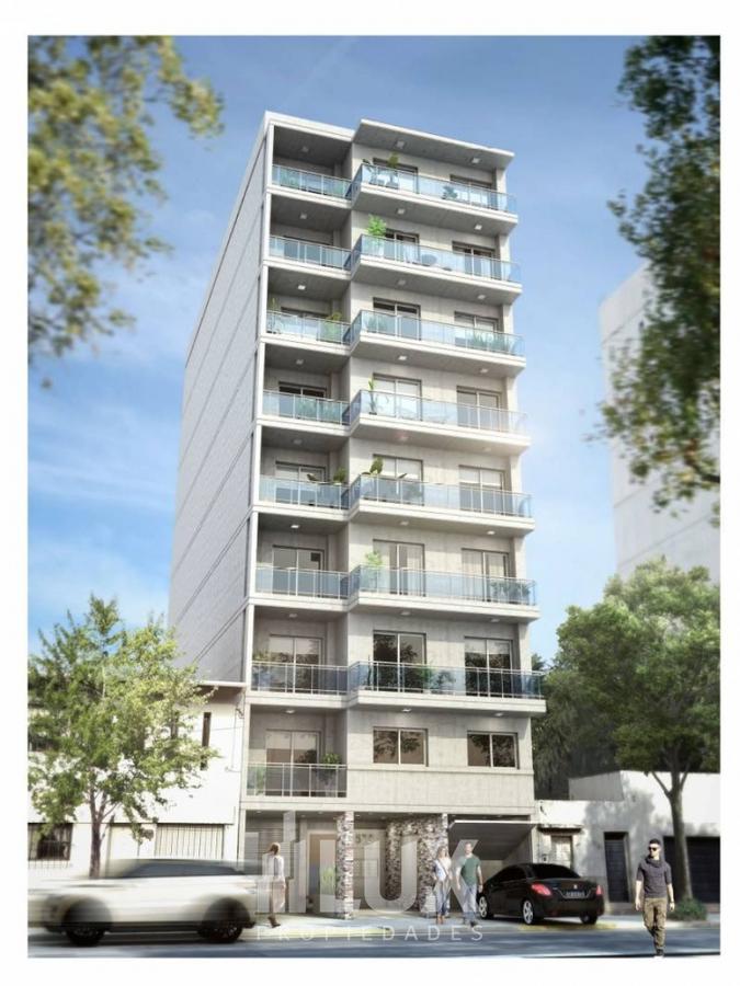 Departamento un dormitorio en construcción balcón corrido contrafrente Norte / Puerto Norte. Oferta promocional contado inversores!