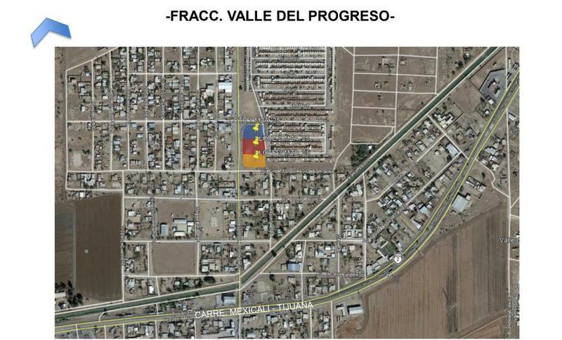 Foto Terreno en Venta en  Valle del Progreso,  Mexicali  Valle del Progreso