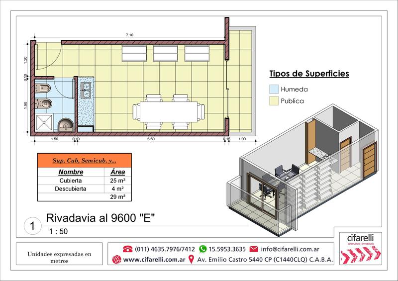 Foto Departamento en Venta en  Villa Luro ,  Capital Federal  Av. Rivadavia al 9600 3° E
