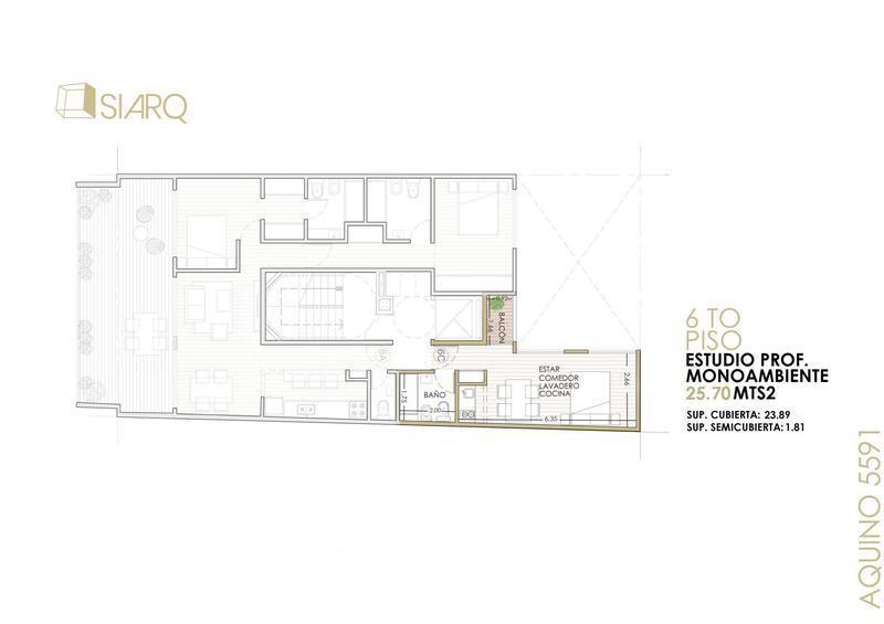 Foto Departamento en Venta en  Villa Lugano ,  Capital Federal  Aquino 5591 6º B