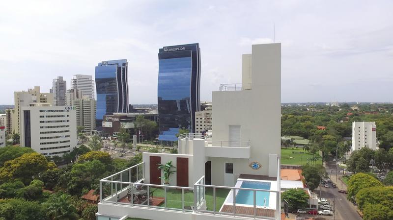 Foto Departamento en Alquiler temporario en  La Recoleta ,  Asunción  Departamento 7B, Chateau Tower, Asunción