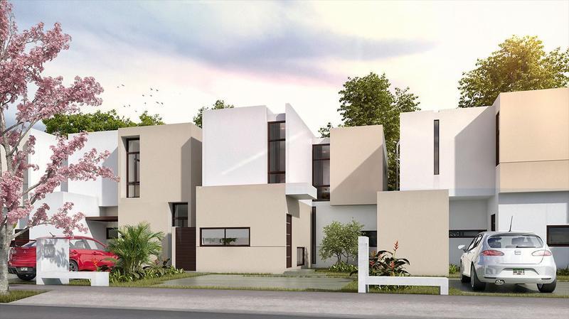 Foto Casa en Venta en  Pueblo Conkal,  Conkal  ENTREGA Inmediata. Casa en venta en Merida, Zensia Parque Residencial, modelo C
