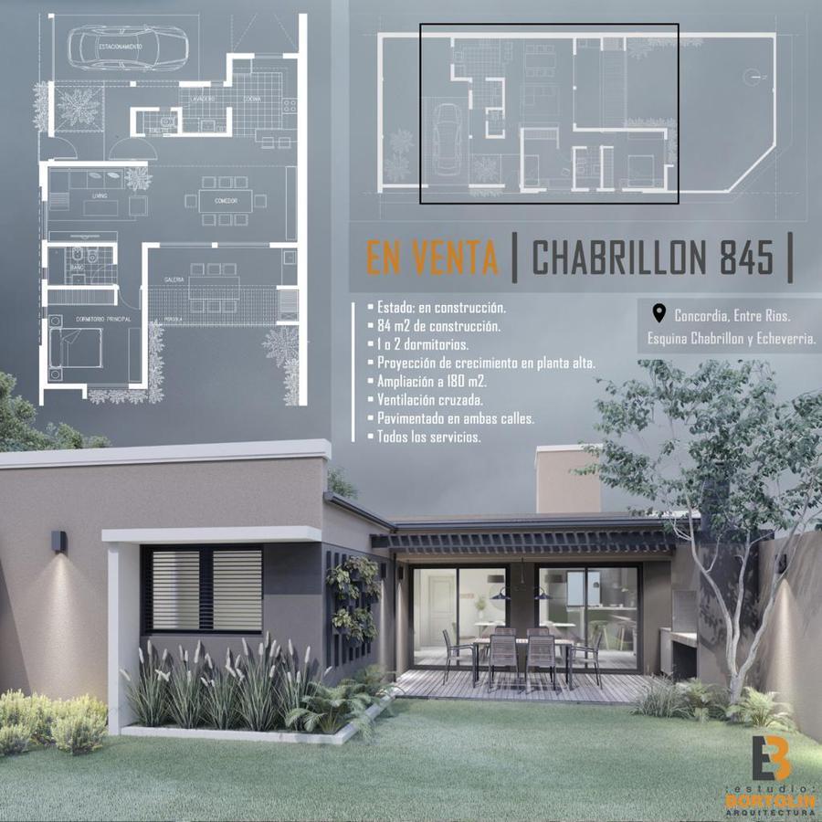 Foto Casa en Venta en  Concordia ,  Entre Rios  Chabrillon y Echeverria
