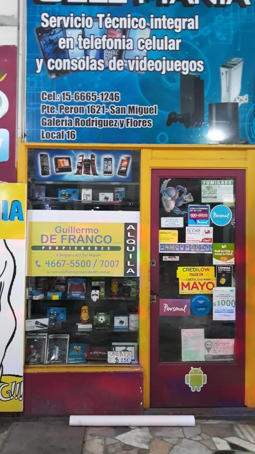 Foto Local en Venta en  San Miguel ,  G.B.A. Zona Norte  Pte. Perón al 1600