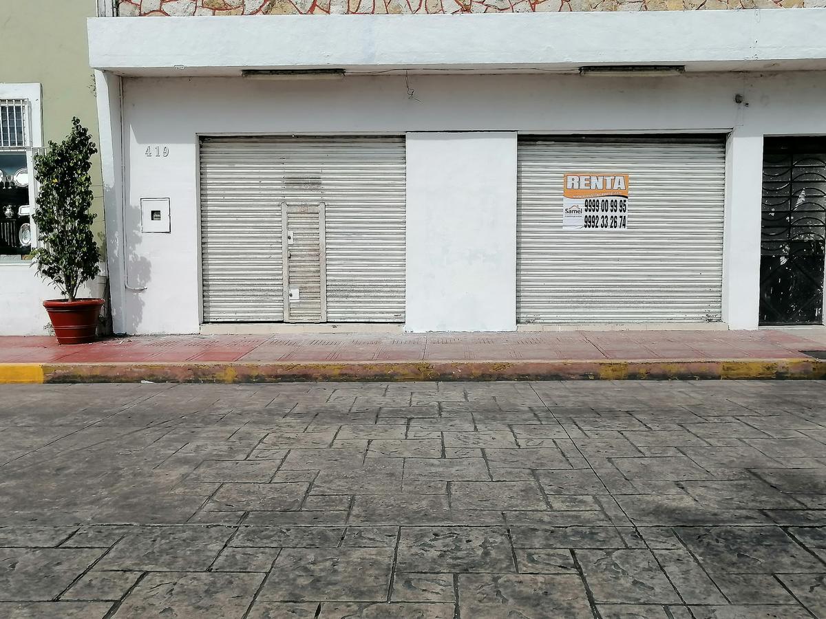 Foto Local en Renta en  Mérida ,  Yucatán  Local de 210 m2 En Calle 60 Centro Zona Santa Ana