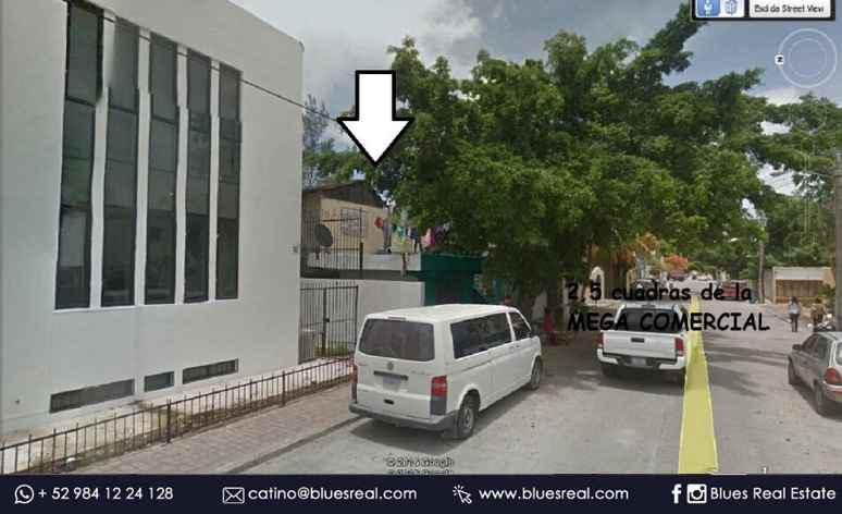Picture Land in Sale in  Solidaridad ,  Quintana Roo  Land for SALE in the Center of Playa del Carmen. Super Opportunity! | Blues Real | Code 929