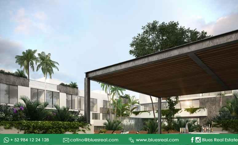 Picture Apartment in Sale in  Tulum ,  Quintana Roo  For sale new apartments with at Anah Village | Blues Real | Code 405