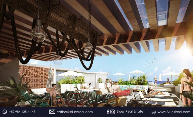 Picture Apartment in Sale in  Playa del Carmen,  Solidaridad  For sale new apartments in Solea   Blues Real   Code 451