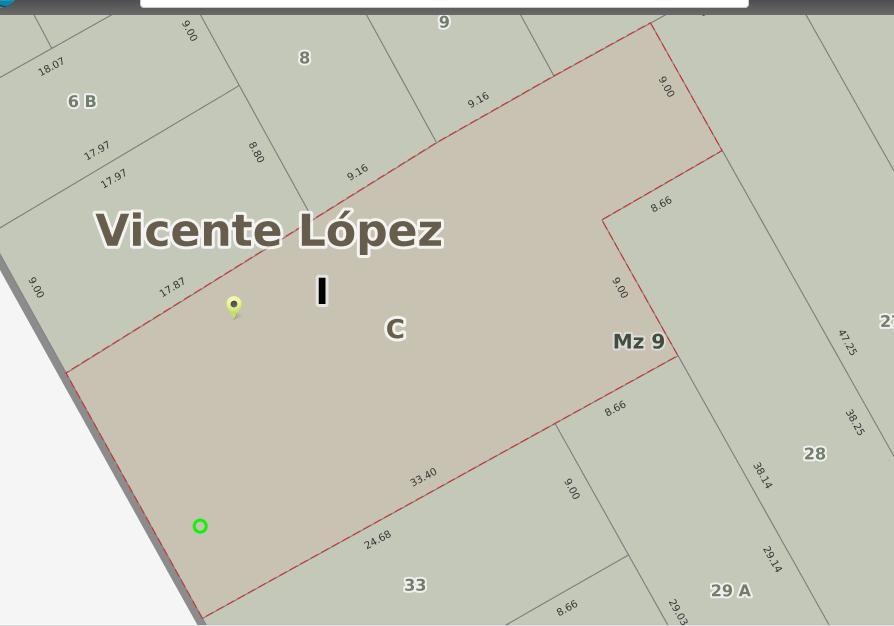 Foto Terreno en Venta en  Olivos,  Vicente Lopez  caseros al 3000