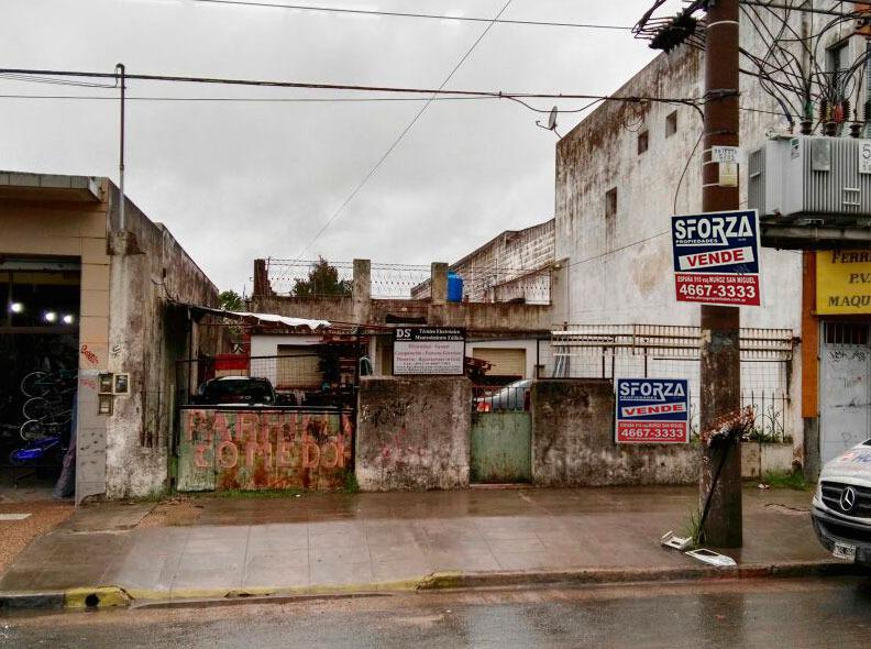 Foto Terreno en Venta en  San Miguel ,  G.B.A. Zona Norte  AV PERON al 2900