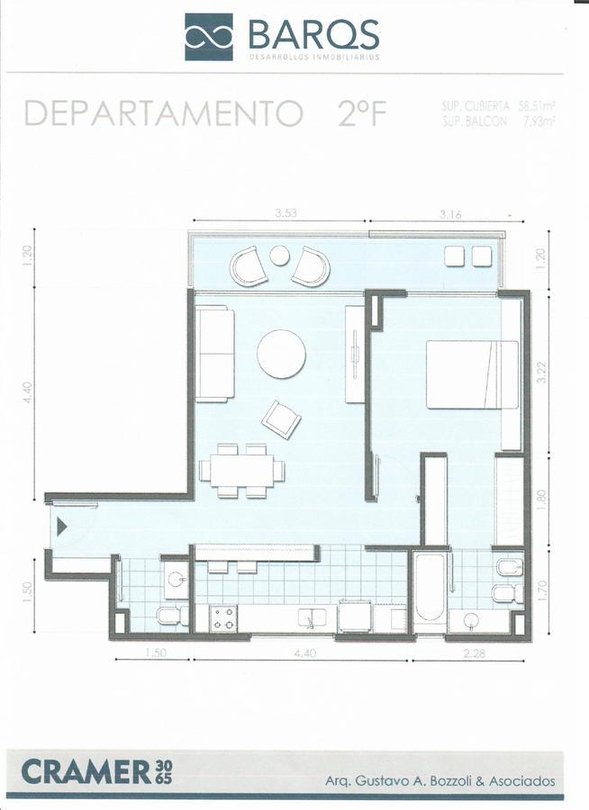 Foto Departamento en Venta en  Nuñez ,  Capital Federal  Av. Cramer al 3065