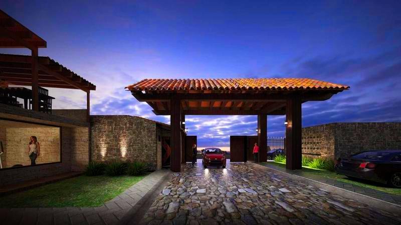 Foto Casa en condominio en Venta en  San Miguel Ameyalco,  Lerma  CASA NUEVA EN VENTA RESIDENCIAL TOLEDO EN LERMA