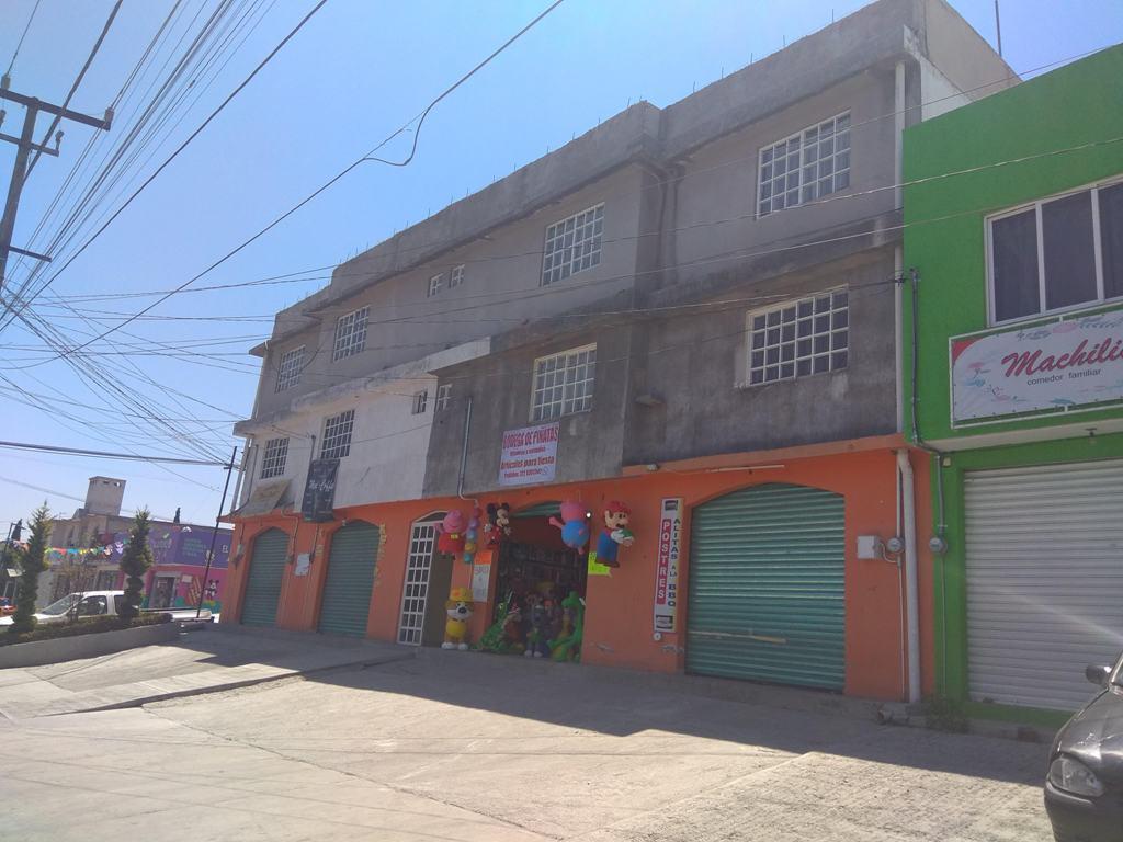 Foto Edificio Comercial en Venta en  Miguel Hidalgo (Corralitos),  Toluca  VENTA EDIFICIO CON 4 LOCALES Y 4 DEPARTAMENTOS
