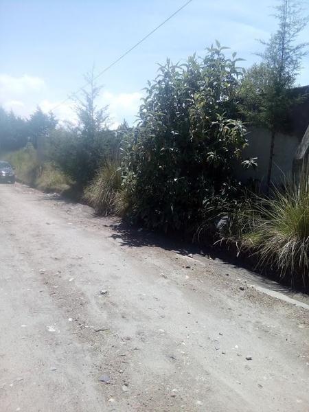 Foto Terreno en Venta en  Santiago Tlacotepec,  Toluca  VENTA  DE TERRENO EJIDAL EN CACALOMACAN, TOLUCA  MÉXICO