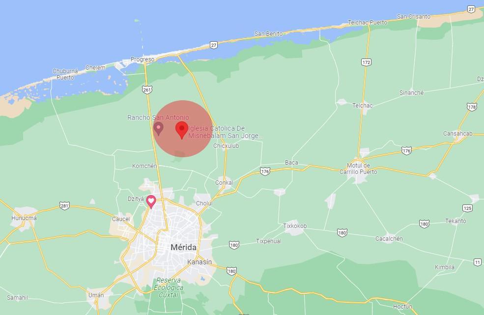 Foto Finca en Venta en  Mérida ,  Yucatán  Histórica Hacienda para Remodelar