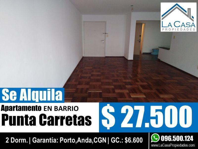 Foto Apartamento en Alquiler en  Punta Carretas ,  Montevideo  21 De Setiembre 2800