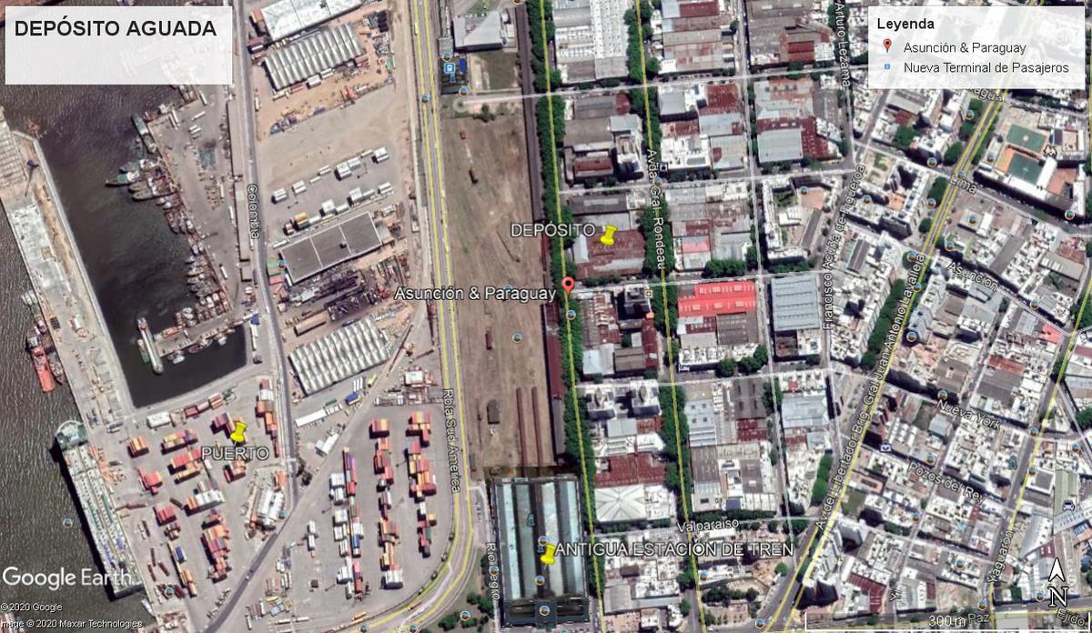 Foto Local en Venta en  Aguada ,  Montevideo  Paraguay y Lima