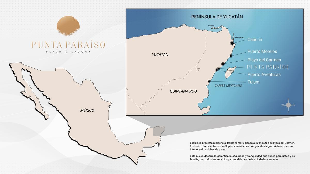 Foto Terreno en Venta en  Solidaridad ,  Quintana Roo  TERRENOS EXCLUSIVOS EN VENTA PAAMUL PLAYA DEL CARMEN