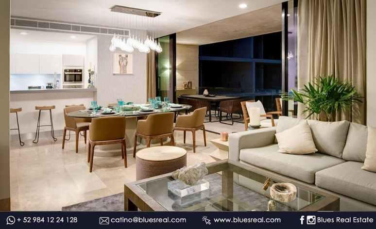 Picture Apartment in Sale in  Solidaridad ,  Quintana Roo  New residences at Oceana in Playa del Carmen | Blues Real | Code 638