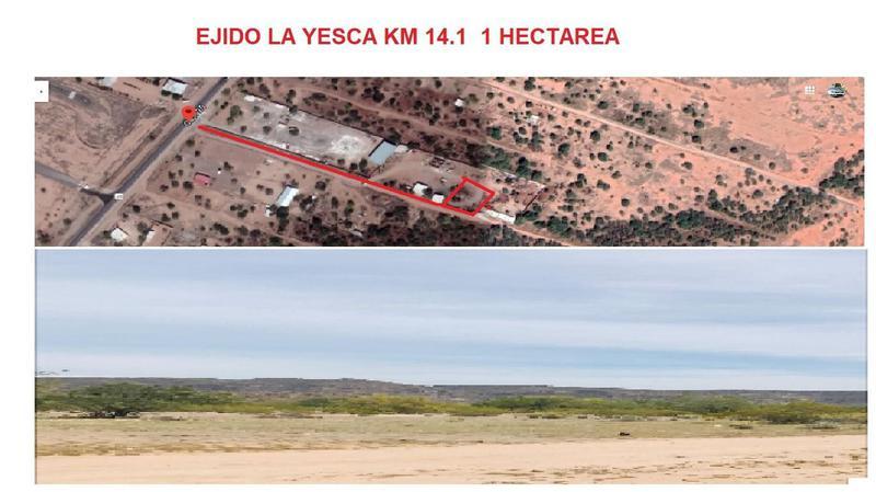 Foto Terreno en Venta en  Ejido La Yesca,  Hermosillo  Terreno en venta en Ejido l Yesca al surponiente de Hermosillo, Sonora